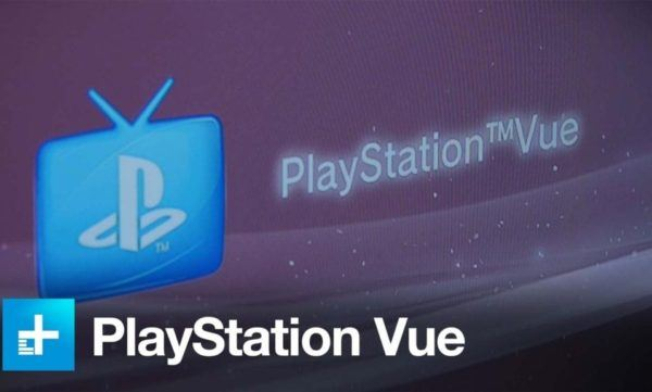 playstation vue on tv