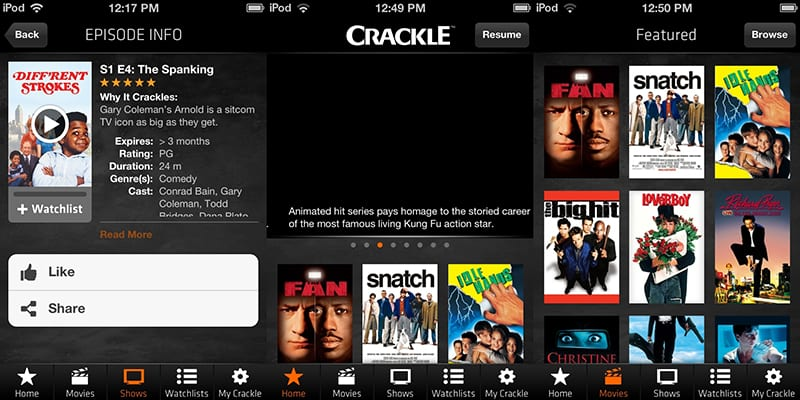 crackle interface