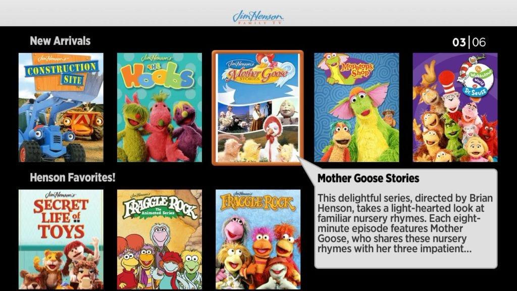 jim henson family tv