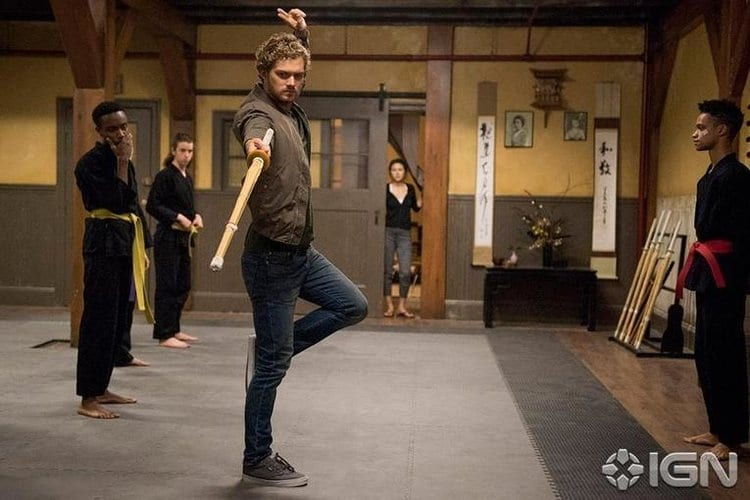 Finn Jones in Iron Fist
