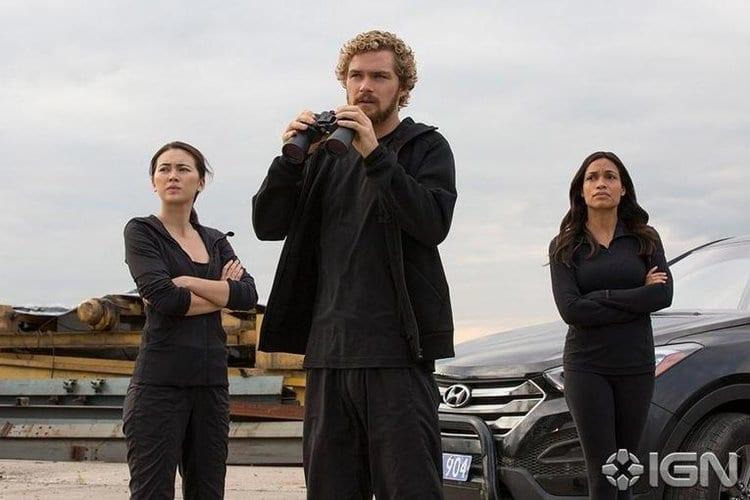 Netflix Marvel Iron Fist Group Shot