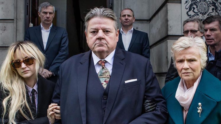 Robbie Coltrane National Treasure