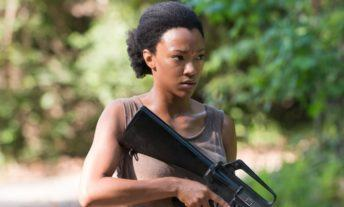 Sonequa Martin-Green in The Walking Dead