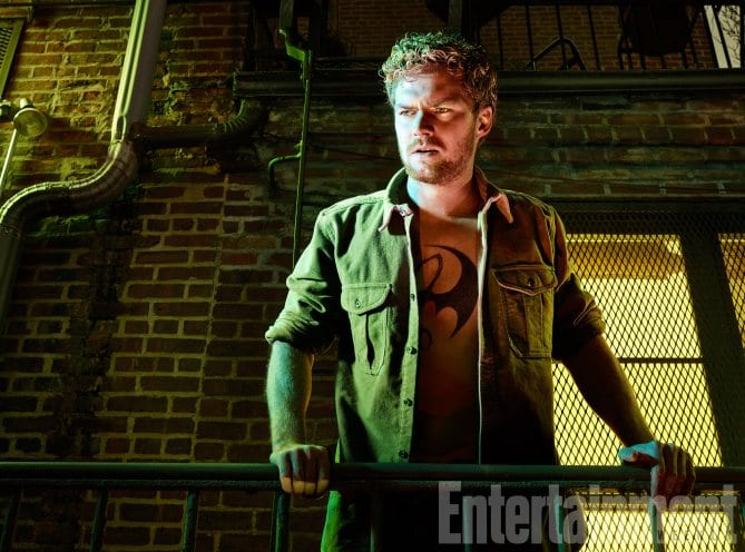 Finn Jones Defenders