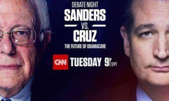 Watch Sanders vs Cruz Debate Online