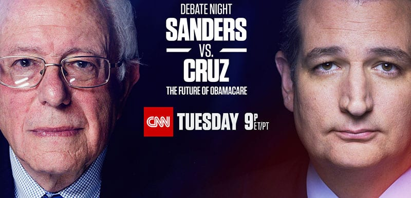 Watch Sanders vs Cruz Debate Online