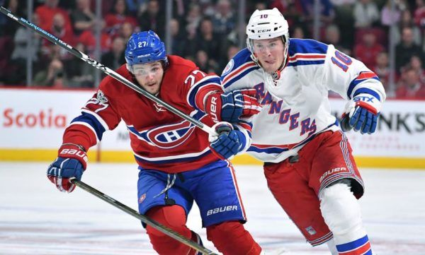 Canadiens vs Rangers Game 1 live stream