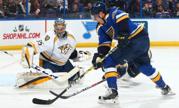 Predators vs Blues live stream