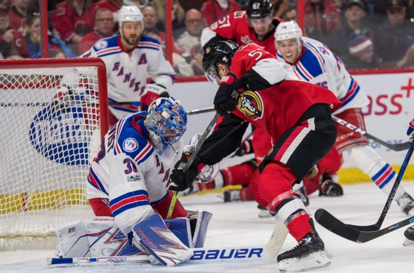 Rangers vs Senators Game 1 live stream