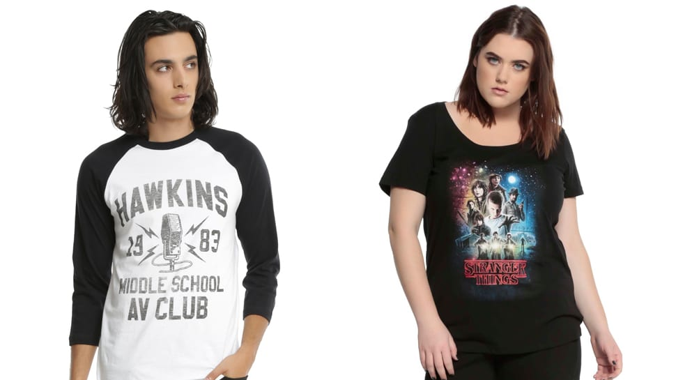 Netflix released official 'Stranger Things' apparel last year.