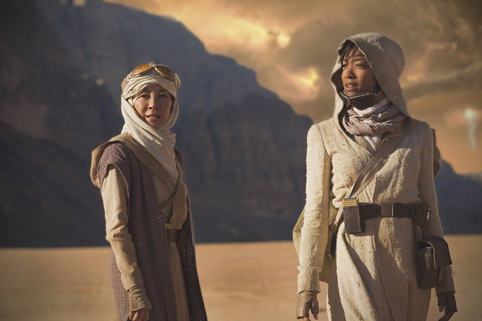 Star Trek Discovery Yeoh and Green