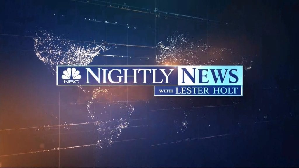 watch nbc nightly news online