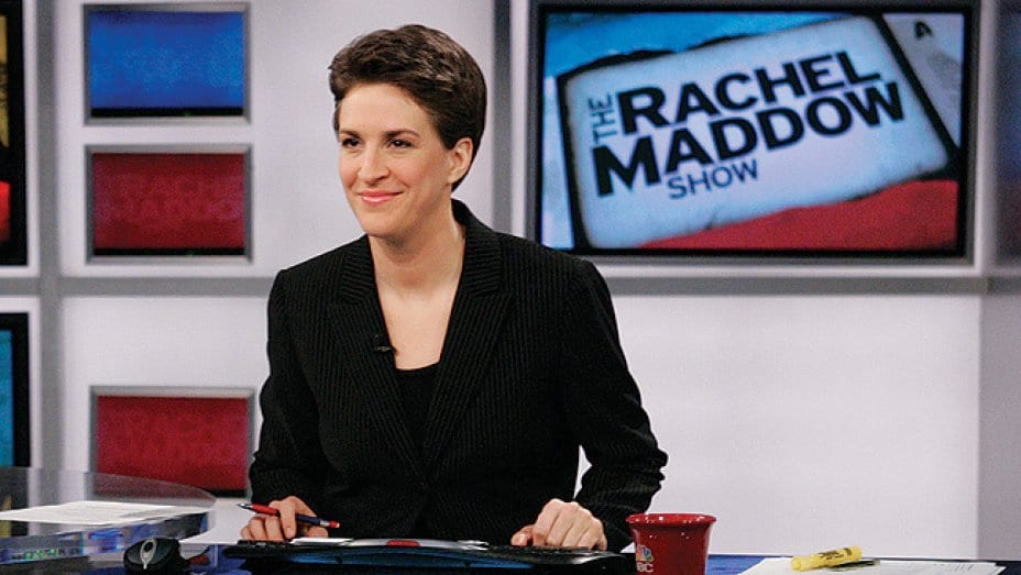 watch the rachel maddow show online