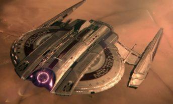 Discovery Starfleet logo