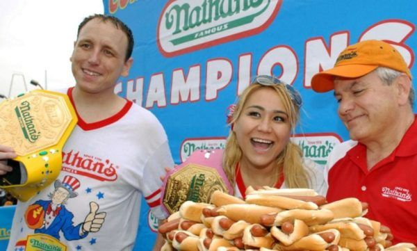 Nathans Hot Dog Eating Contest live stream