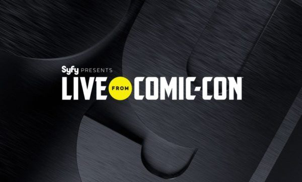 watch Live from Comic Con online