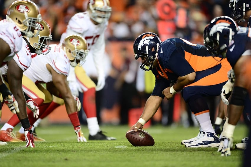 watch Broncos vs 49ers online