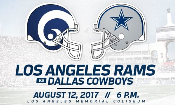 watch Cowboys vs Rams online