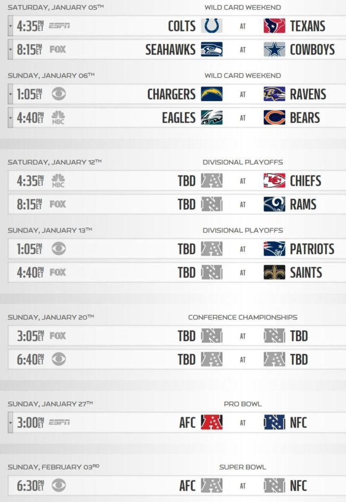 d6b83e38f1d How to Watch the NFL Playoffs Online without Cable