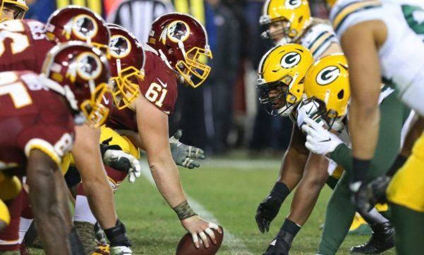 watch Packers vs Redskins online