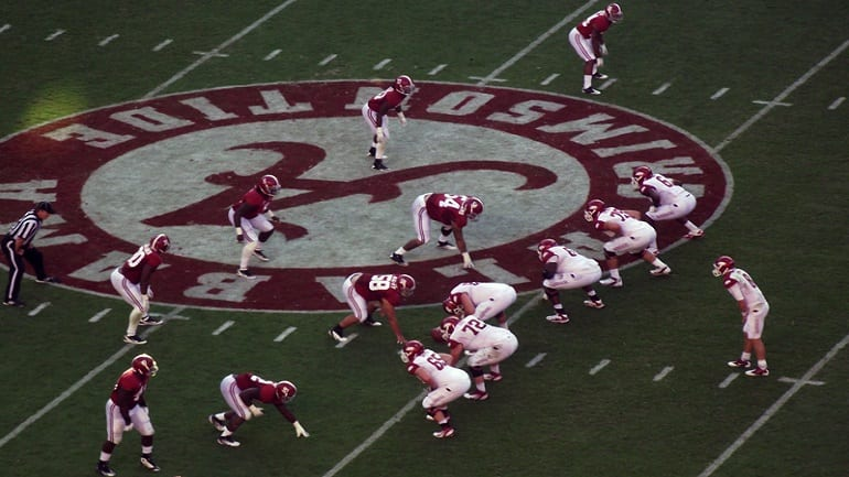 Watch Alabama Football Online