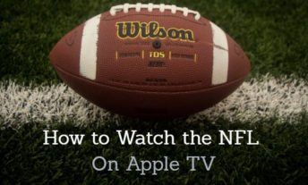Watch NFL on Apple TV