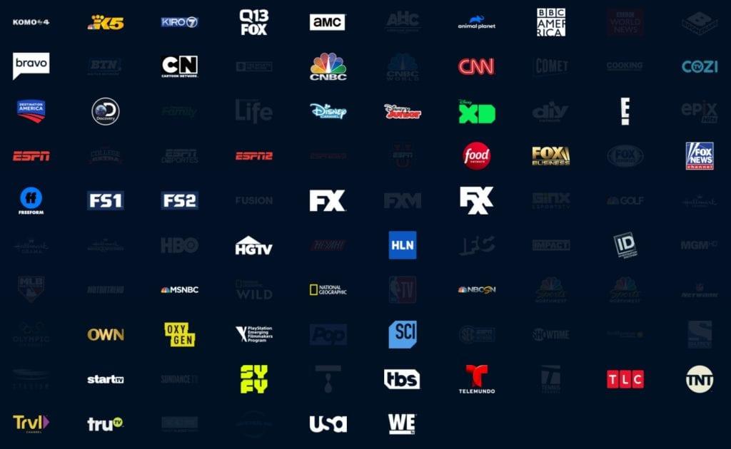 Vue Access channels
