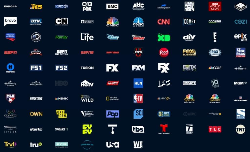 Vue Elite channels