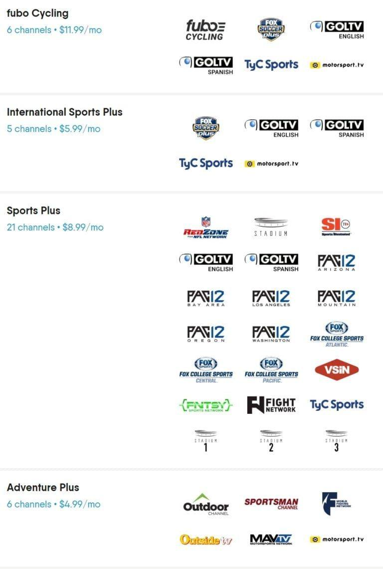 fuboTV Channels List: Complete Guide to All the Channels