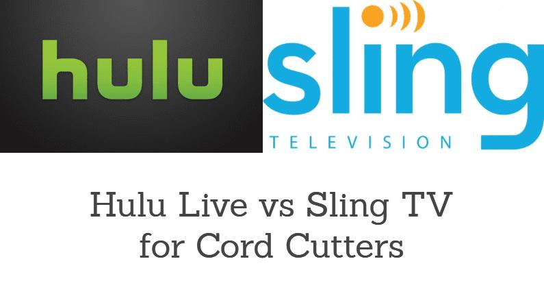 Sling TV vs Hulu Live