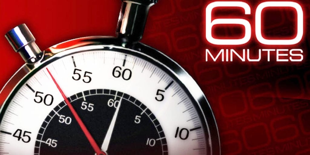 watch 60 minutes online