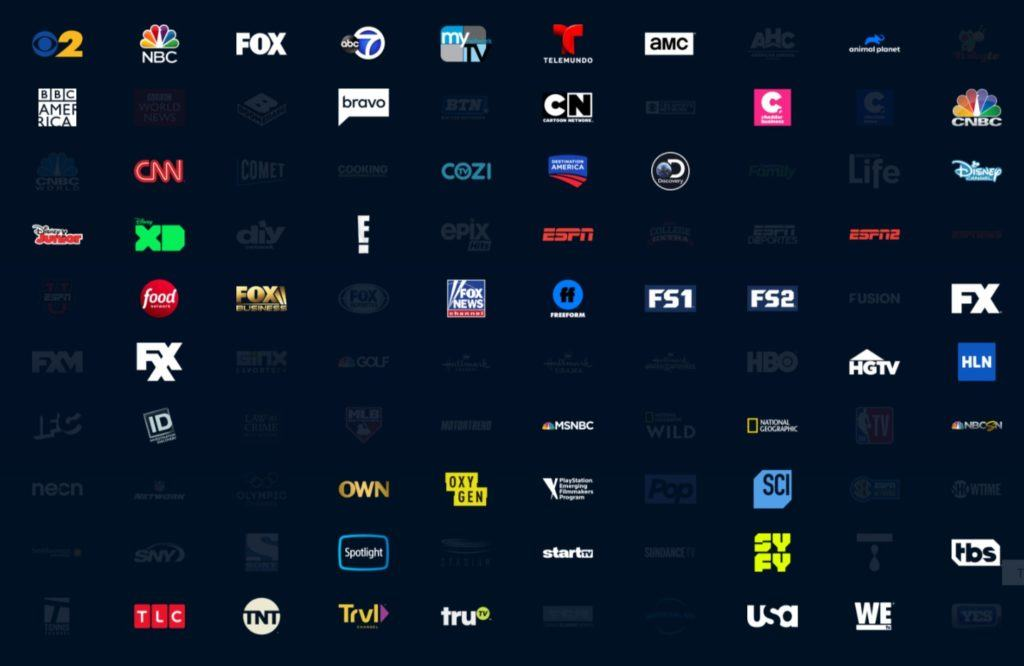 PS Vue channels Access