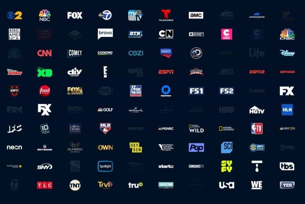 PS Vue channels Core