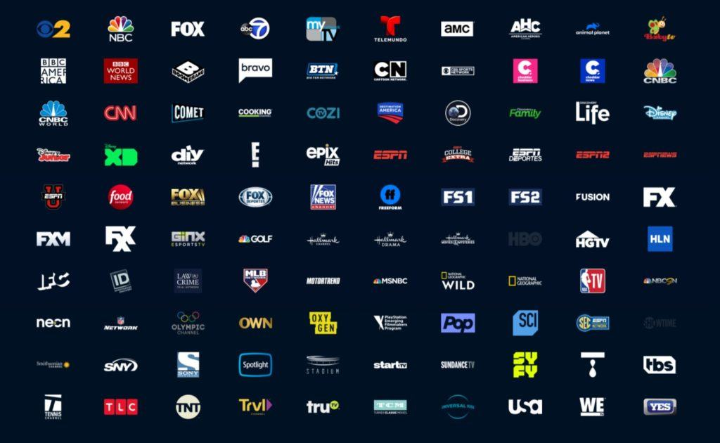 PS Vue channels Elite