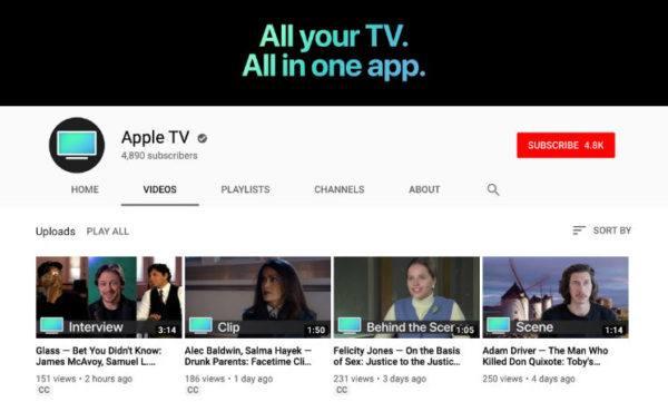Apple TV YouTube Channel