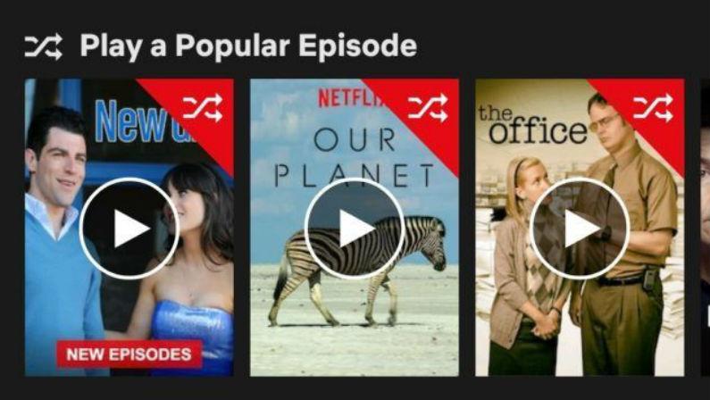 Netflix random episode