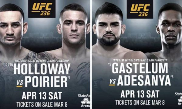 watch UFC 236 online