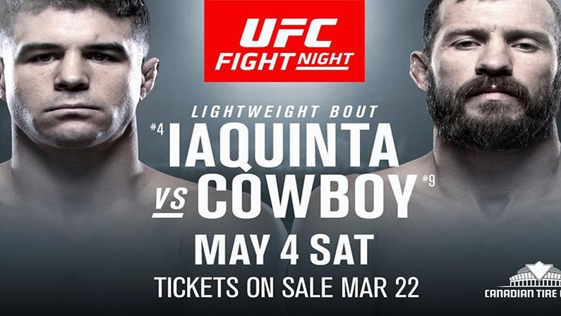 watch UFC Fight Night Ottawa online
