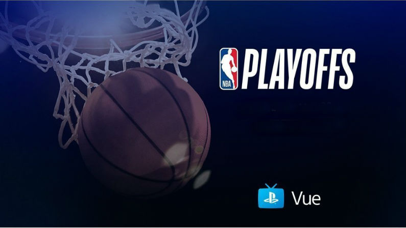 NBA Playoffs on PlayStation Vue