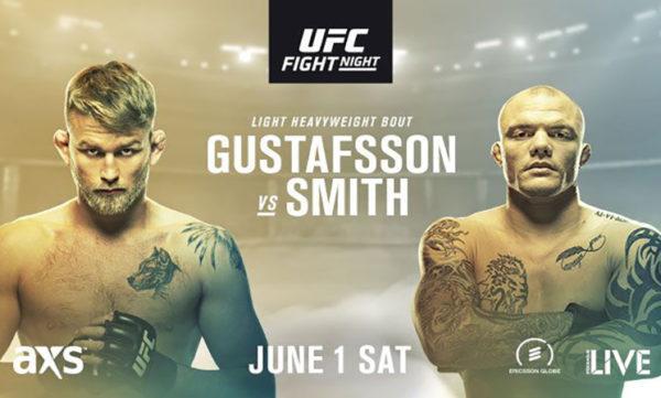 Watch UFC Fight Night Stockholm Online