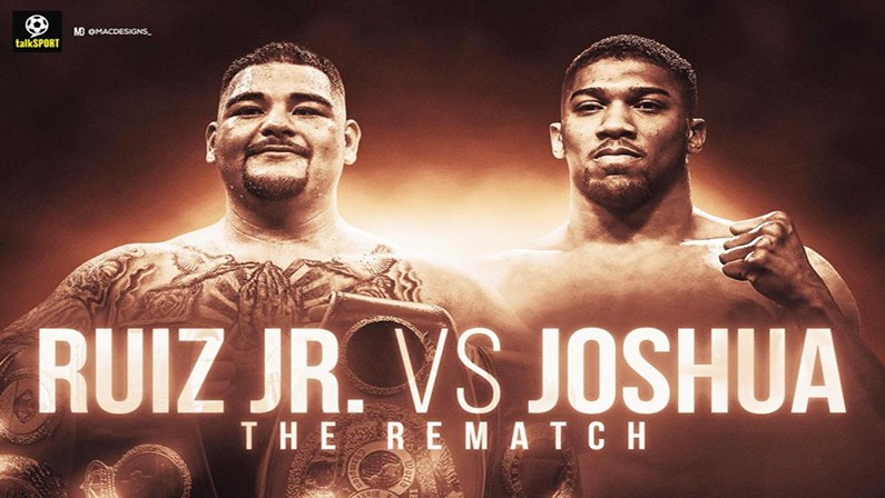 watch Ruiz Jr vs Joshua 2 online