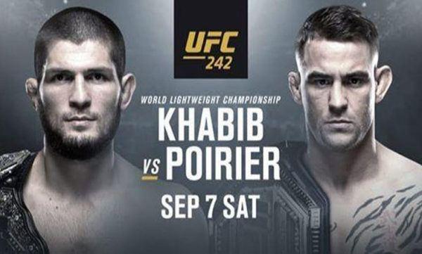 watch UFC 242 online