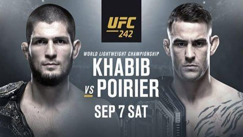 watch UFC 242 online