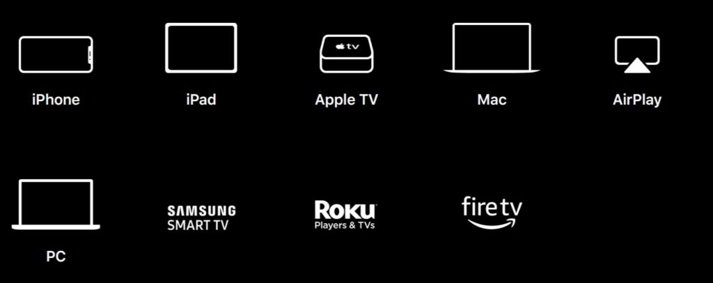 Apple TV+ Devices