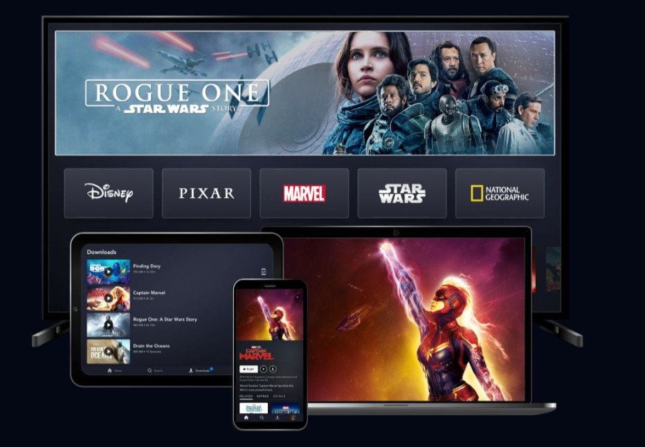 Disney+ vs Netflix devices