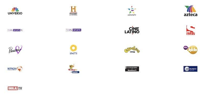 Sling Latino Channels