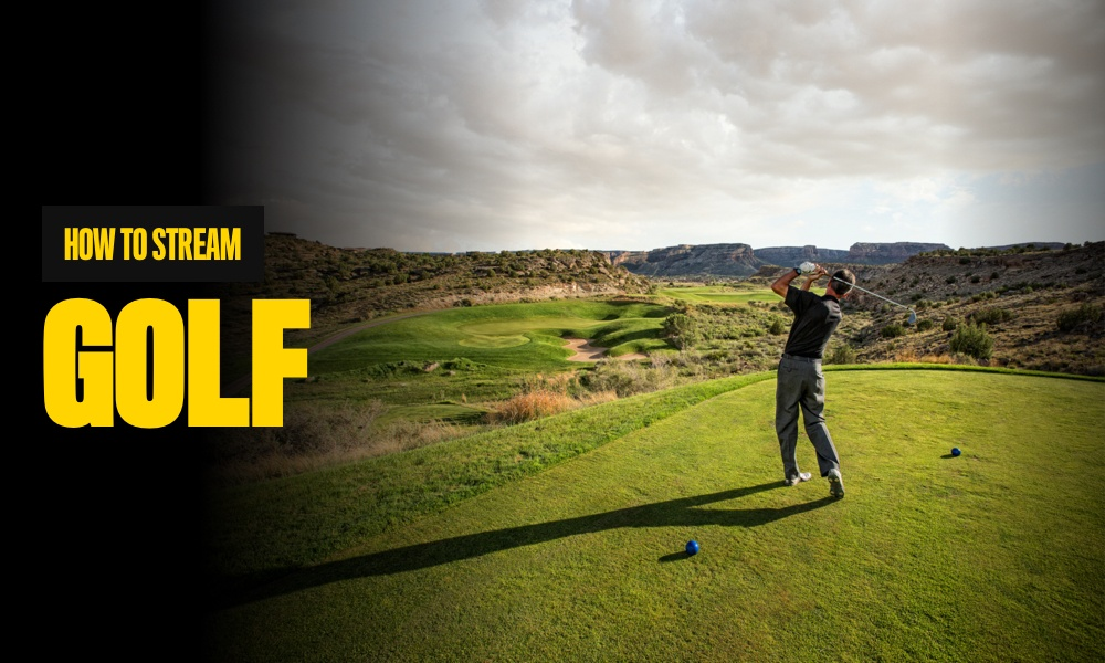how to stream golf online