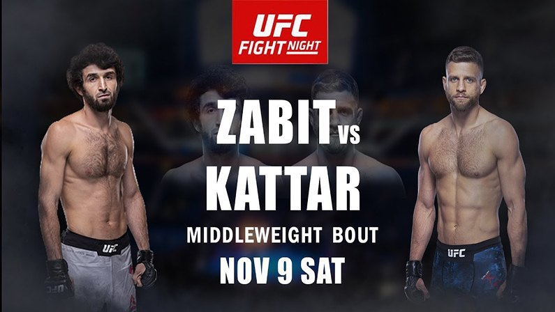 UFC Fight Night Moscow Live Stream