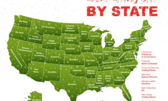 holiday movie map