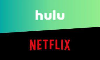 Hulu and Netflix logos
